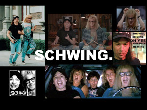 Wayne's World Schwing by baker3video