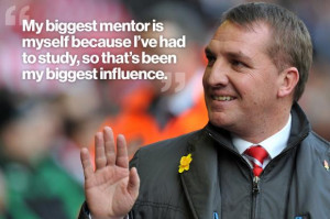 ... the arrow on the right to see more of Brendan Rodgers' top quotes