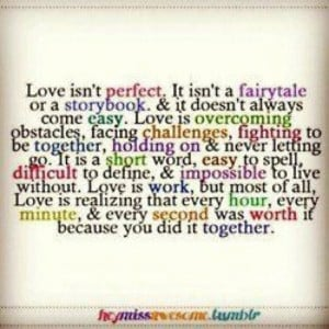 Love comes when you least expect it!