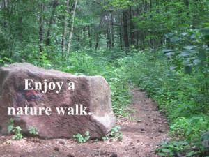 Nature Walk www.TrainTLC.com