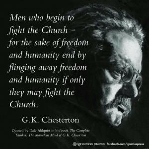 Chesterton quotes