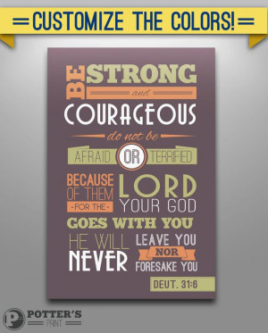 12x18 Bible Quote on Canvas Deut 316 by ThePottersPrint on Etsy, $42 ...