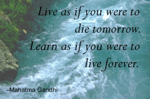 live for today, quote,