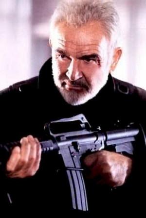 Sean Connery as John Patrick Mason in The Rock (1996)