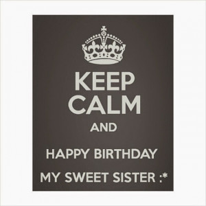Happy Birthday Baby Sister Quotes