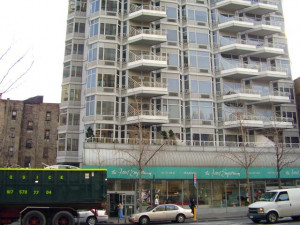 ... New York, NY. Detail. Street level (32nd Street) facade. Photograph
