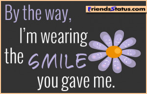 cute smile quotes for facebook
