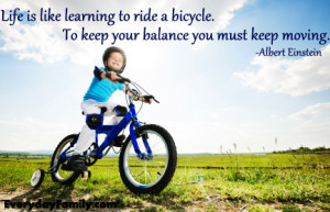 Bike Riding Quotes Go ride a bike! picture