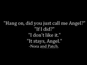 tags: patch cipriano , perfect angel , Hush Hush , hush hush saga ,