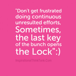 Motivational Quote Images On Don't Get Frustrated