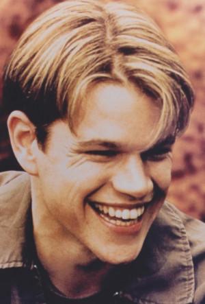 Matt Damon Good Will Hunting Quotes. QuotesGram  Matt Damon Good...