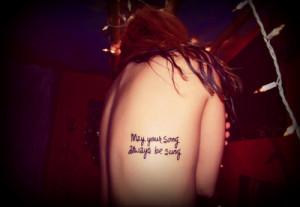 Inspiratie: De mooiste songteksten vertaald naar tatoeages