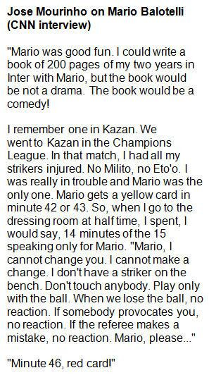 Mario Balotelli Quotes