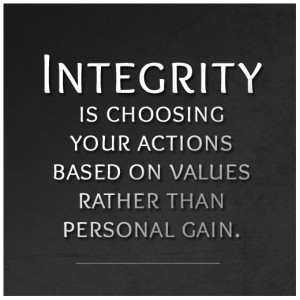 Definition of #Integrity. #Quote #Wisdom