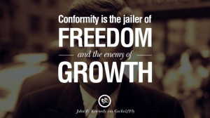 ... John Fitzgerald Kennedy Famous President John F. Kennedy Quotes on