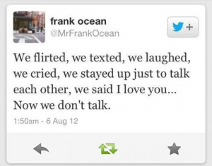 frank ocean quotes about love
