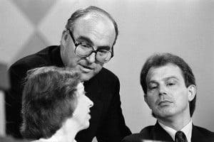 Margaret Beckett, John Smith and Tony Blair at the Labour party ...