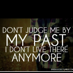 Move on from the past