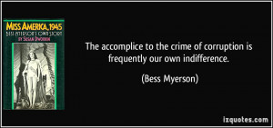 More Bess Myerson Quotes