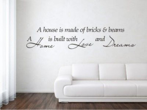 Vinyl Wall Decals and Quotes for your Home