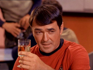 Little known sci-fi fact: James Doohan was shot 6 times on D-Day
