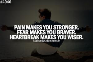 fear, heartbreak, pain, quote