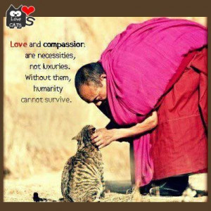 Without love & compassion, humanity cannot survive.
