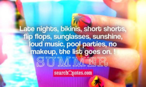 Cute Summer Quotes And Sayings
