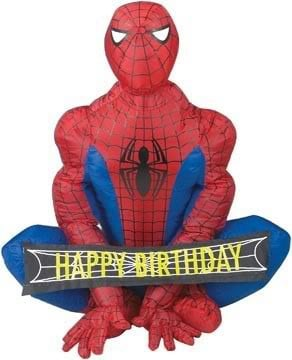 All Graphics » happy b-day spiderman
