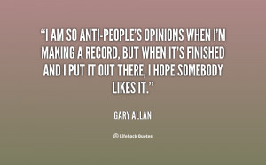 Peoples Opinion Quotes