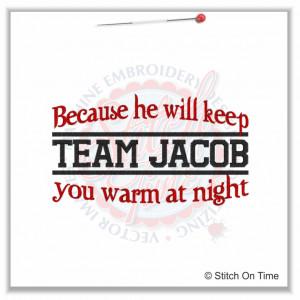 Team Jacob Quotes