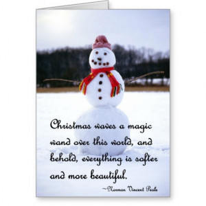 Snowman Sayings Cards & More