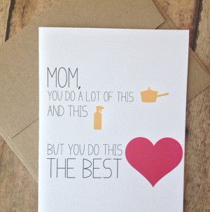 Etsy Wednesday: 10 Clever Mother's Day Cards