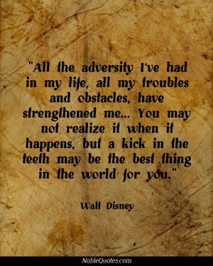 Adversity Quotes | http://noblequotes.com/