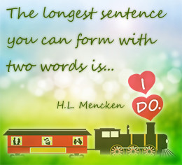 Wedding Anniversary Wishes For Cousin H.l. mencken on weddings
