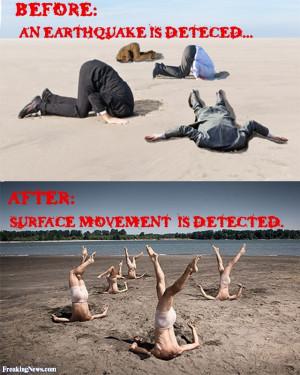 Legs Earthquake Detection