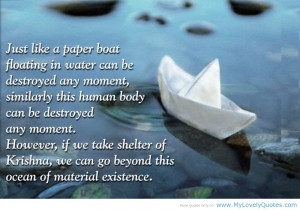 Quotes About Floating in Water