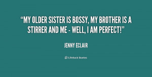 Older Sister Quotes