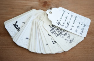 gift tags with quotes r100 00 gift tags with various quotes 10 tags in ...