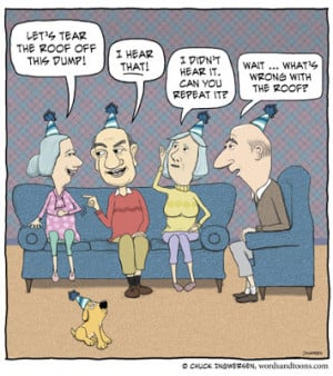 funny old people cartoons