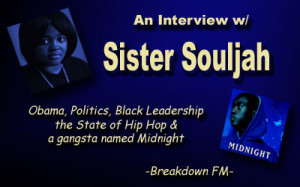 ... FM: An Interview w/ Sister Souljah-Still at War 'Til Midnight