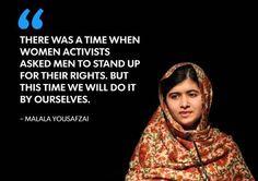 Am Malala: Nobel Peace winner's quotes