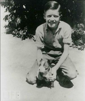 Ronald Reagan childhood photos