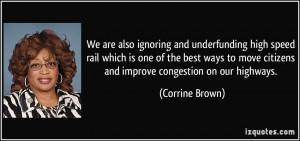 More Corrine Brown Quotes