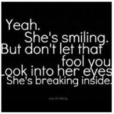Look into my eyes; i'm breaking inside #brokenheart - @fashfame- # ...