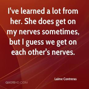 people get on my nerves quotes