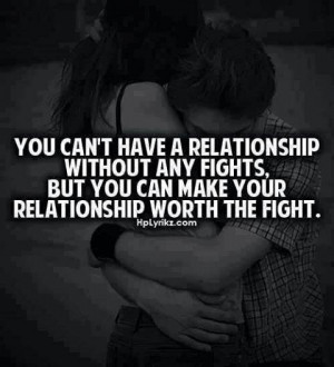You can't have a relationship