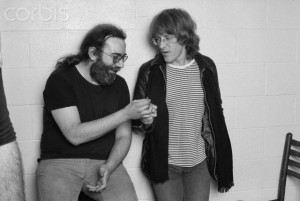Jerry Garcia and Paul Kantner
