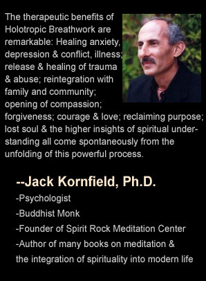 Jack Kornfield quote on Stan Grof