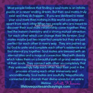 Soul Mates Truly Exist..